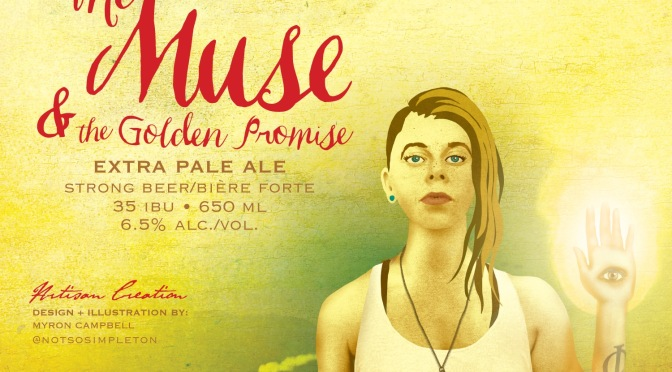 Cannery Brewing – Muse & The Golden Promise